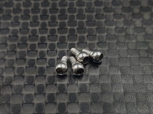 GL Racing Ball Joint Heads 2.5mm (4pcs)