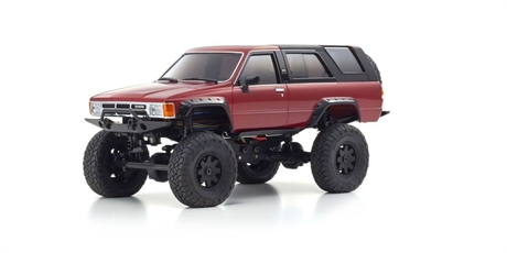 Kyosho Mini-Z 4X4 Toyota 4 Runner (HiLux Surf) Metallic Red Ready Set